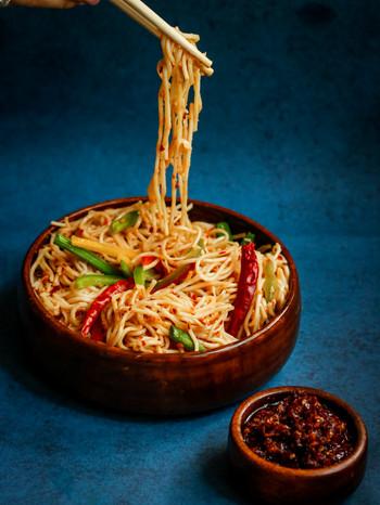 Chilli Oil Noodles
