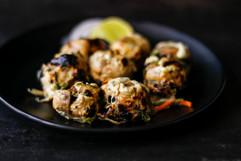 Pesto Dhingri Kebab, Butler & Bayleaf