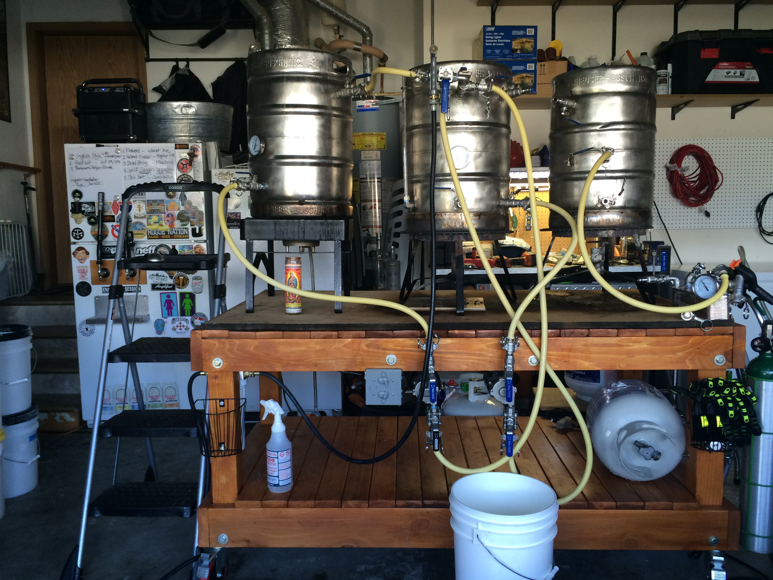 home made brewing system