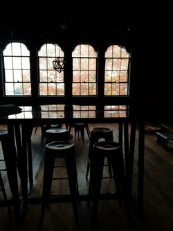 The communal table.