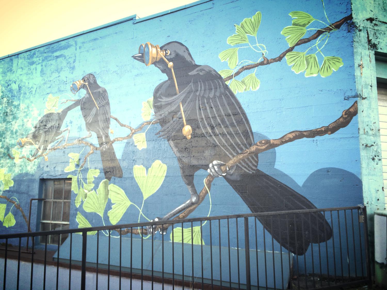 History of Tacoma mural