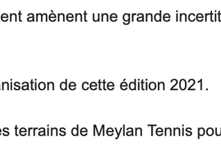 ANNULATION OPEN DE MEYLAN