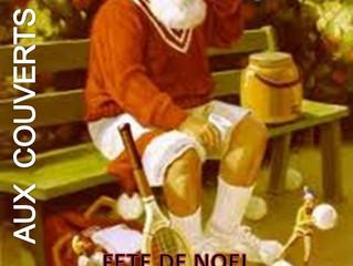 FÊTE DE NOËL de l'école de tennis MERCREDI 14 DÉCEMBRE