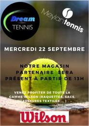DEAM TENNIS PRESENT LE 22 SEPTEMBRE
