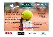 Tournoi Jeunes et Senior + et Super étape Verte