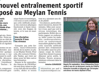 "Info Presse Le ""FIGHTennis à l'honneur"""