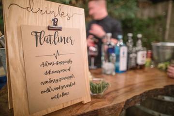 Drink Sign   Miller Wedding