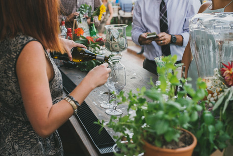 White Wine, Anyone? | Frederick Wedding