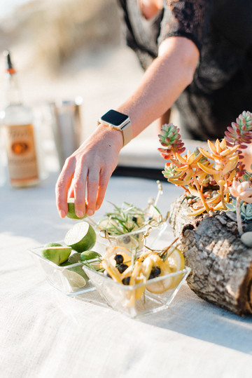 Garnishing the Perfect Moscow Mules