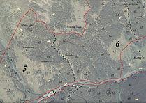 Forstkarte Agrargemeinschaft mit Orthophoto
