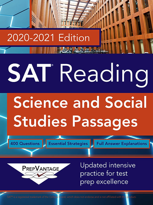 SAT Reading: Science and Social Studies