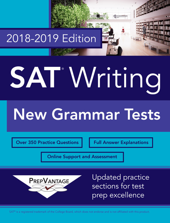 New SAT Grammar Tests: Buy the book today!
