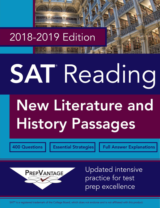 SAT Literature and History: Now Available!