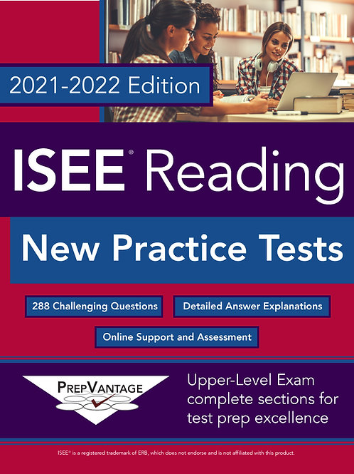 ISEE Reading: New Practice Tests