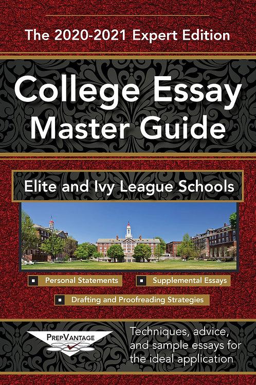 The College Essay Master Guide