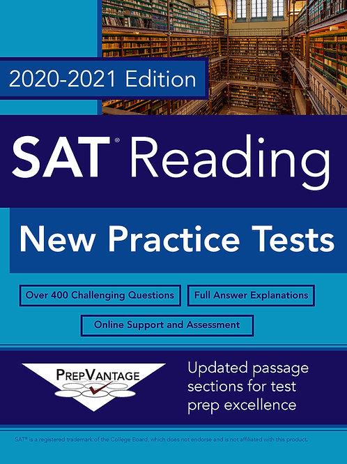 SAT Reading: New Practice Tests