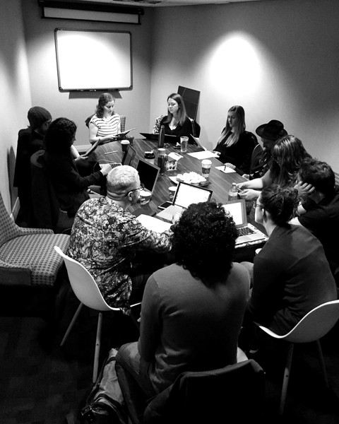 Behind the Scenes: Company Table Read.