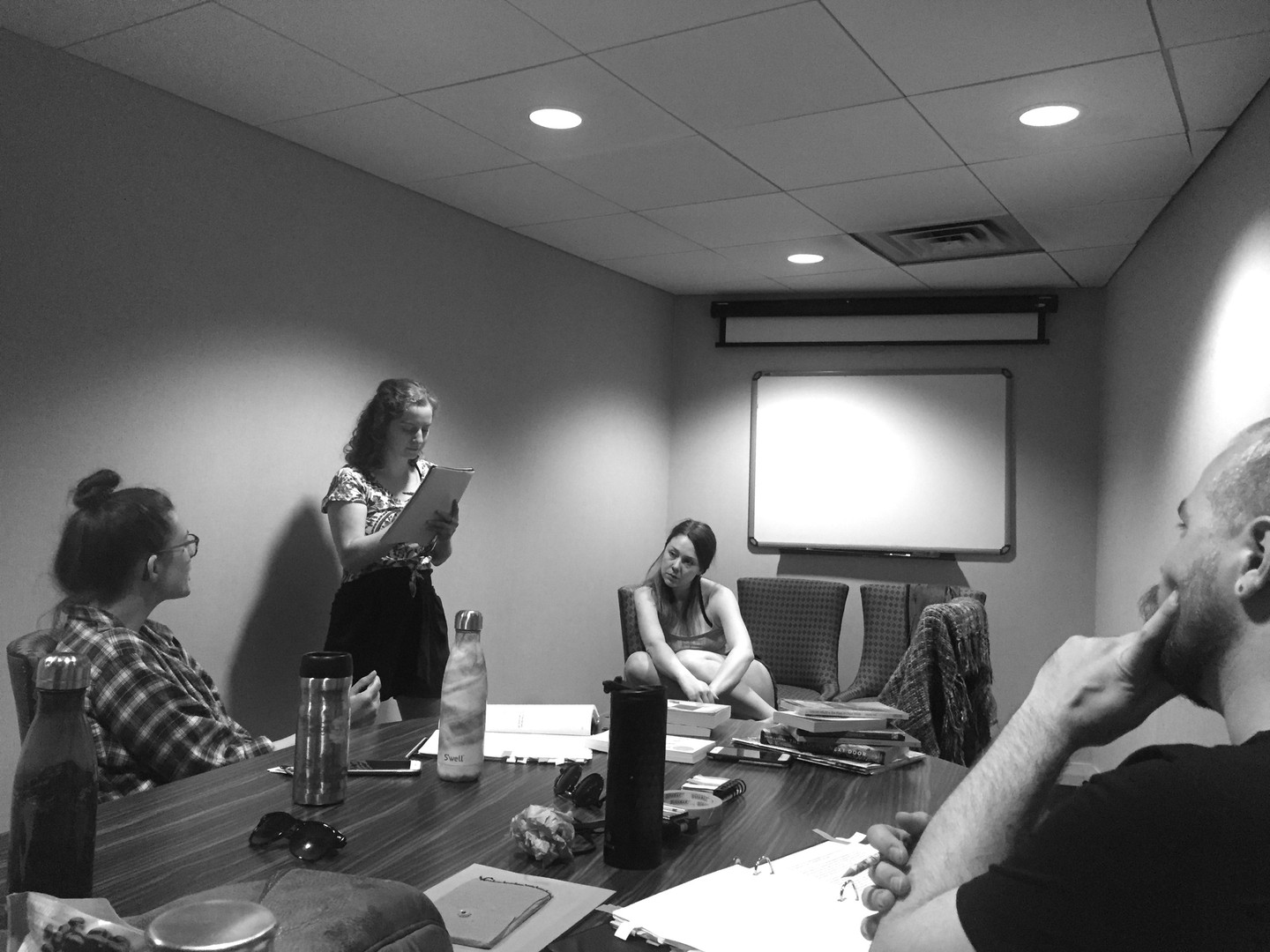 Behind the Scenes: Boardroom discussions and staging Act 2