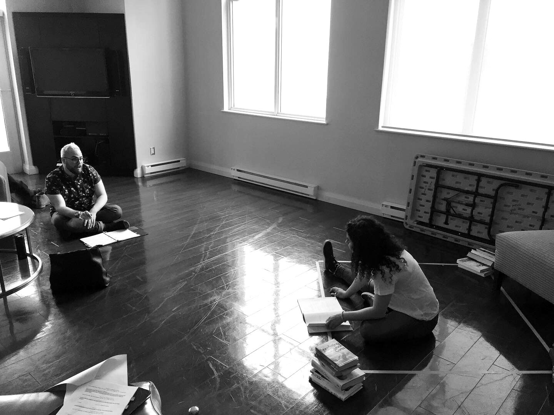 Behind the Scenes: Rehearsals start!