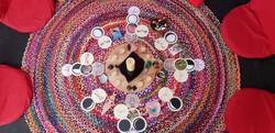 Circle altar