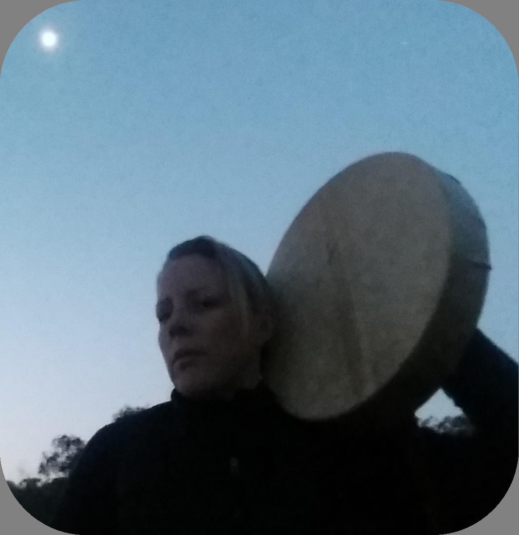 Drumming at dusk