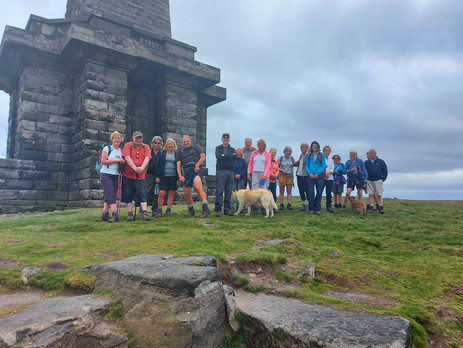 Hebden Bridge to Stoodley Pike - Sunday 6th June