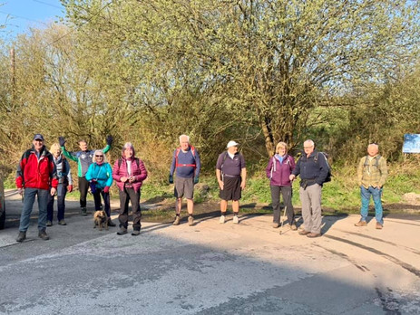 Moore Nature Reserve and Trans Pennine Trail - Saturday 17th April