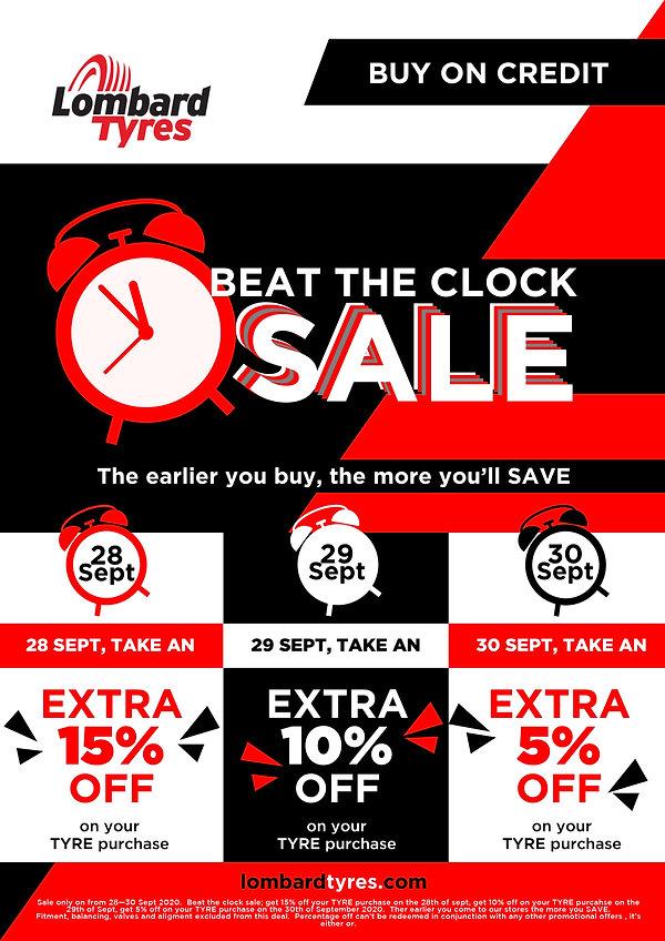 Beat The Clock Sale Sept 2020 website po