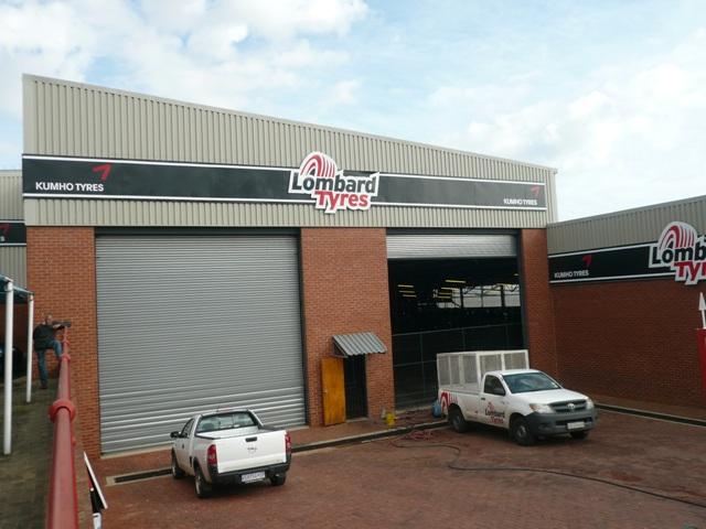 Kumho Krugersdorp Warehouse