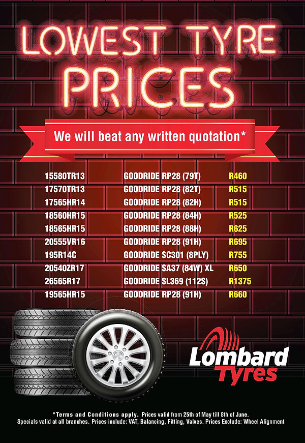 Goodride Tyre Special - Lowest Tyre Prices