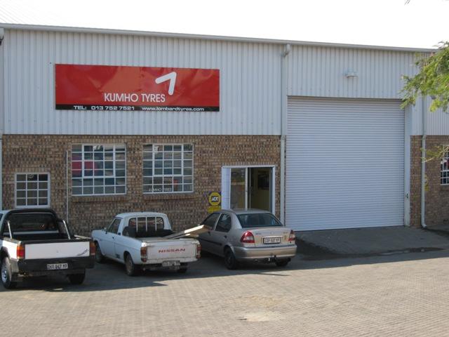 Kumho Nelspruit Warehouse