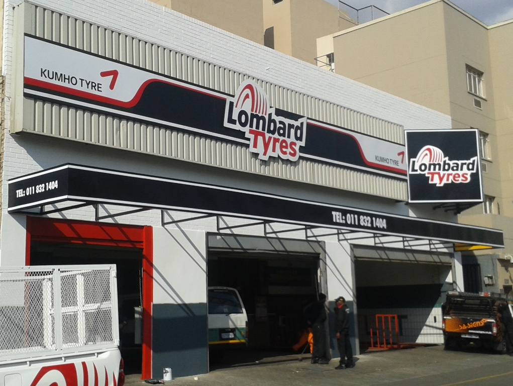 Lombard Tyres Johannesburg