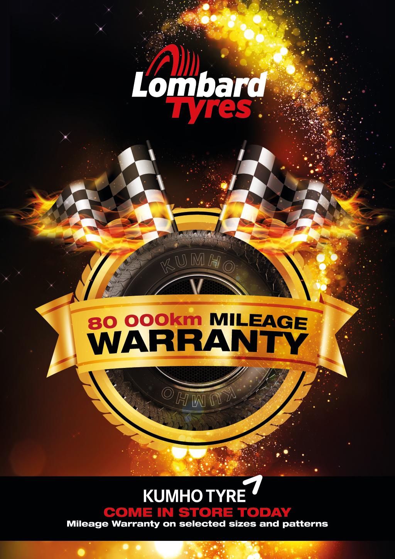 Kumho Mileage Warranty
