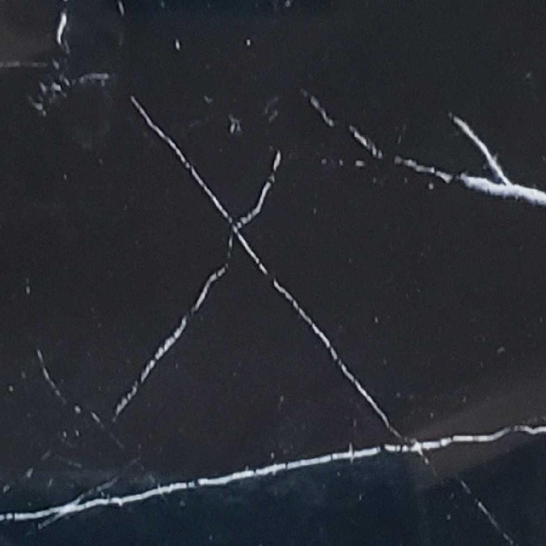 vidro marmorizado nero marquina