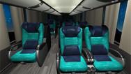 Configurador de interior de ônibus