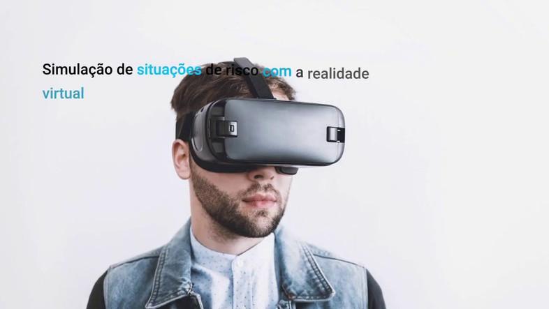 Apresentação do software de realidade virtual