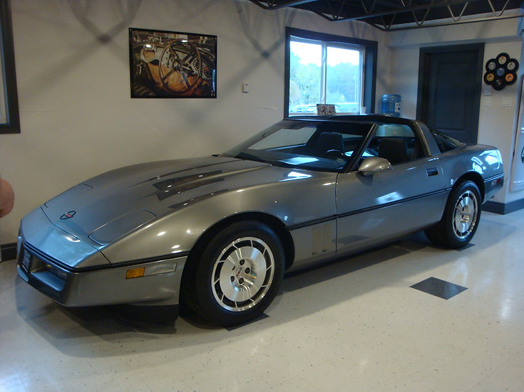 1986 CHEVROLET CORVETTE L98 TARGA TOP COUPE