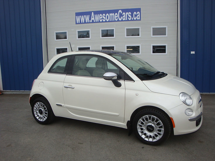 2015 FIAT 500 LOUNGE COUPE