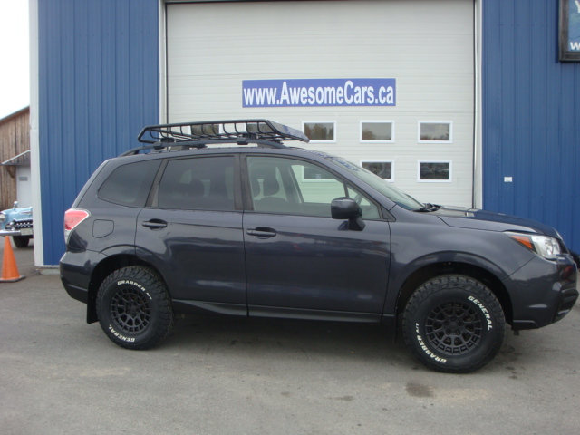 2017 SUBARU FORESTER LIFTED