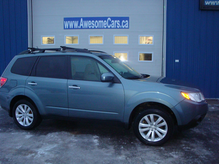 2011 SUBARU FORESTER TOURING 5-SPD. MANUAL