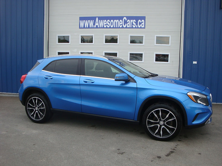 2016 MERCEDES BENZ GLA250 4MATIC SPORT
