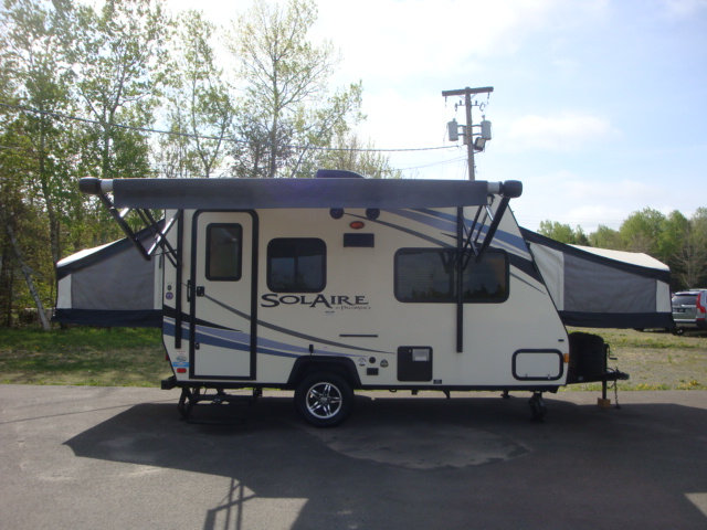 2014 FOREST RIVER PALAMINO SOLAIRE 147X HYBRID CAMPER