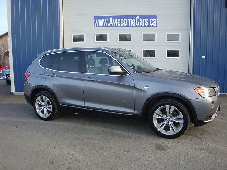 2011 BMW X3 X-DRIVE 35i