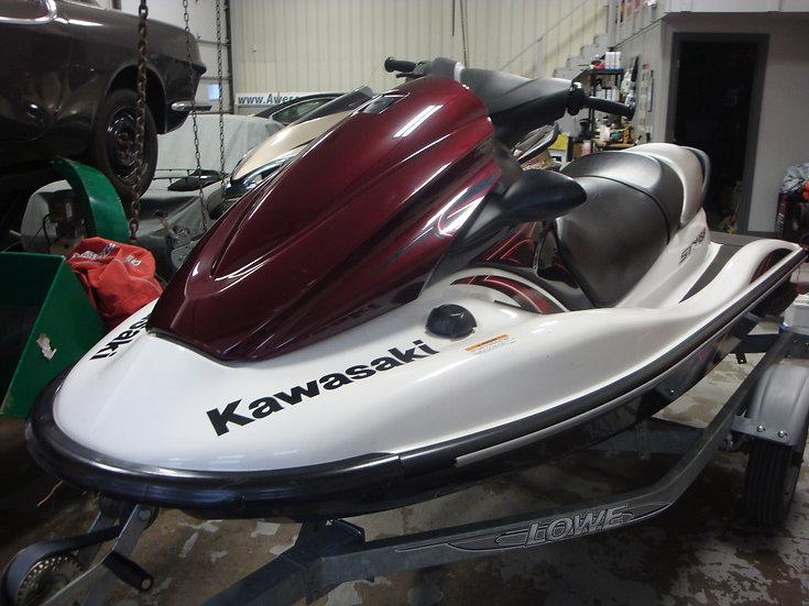 2011 KAWASAKI STX15F w/LOWE TRAILER