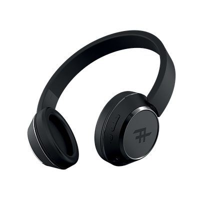 iFrogz Audio Coda Wireless Bluetooth Headphone with Mic, Black