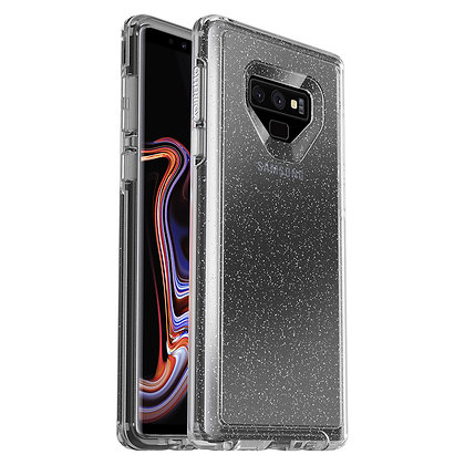 OtterBox Symmetry Clear Samsung Galaxy Note 9, Stardust (Flake/Clear)