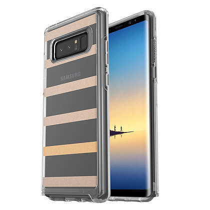 OtterBox Symmetry Clear Series Samsung Galaxy Note 8, Graphic Inside The Lines