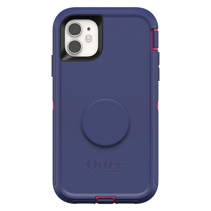 OtterBox Defender Series Otter + Pop iPhone 11, Grape Jelly