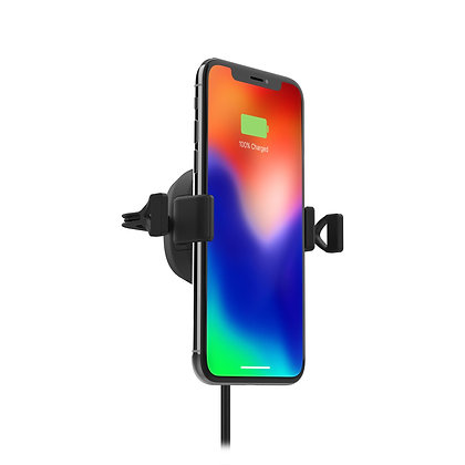 Mophie Charge Stream Vent Mount, Black