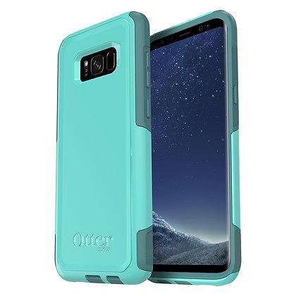 OtterBox Commuter Samsung Galaxy S8+, Aqua Mint Way (Mint/Green)